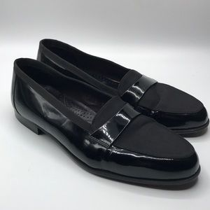 Vintage Adolfo BlackTie Formal Patent Leather Shoe